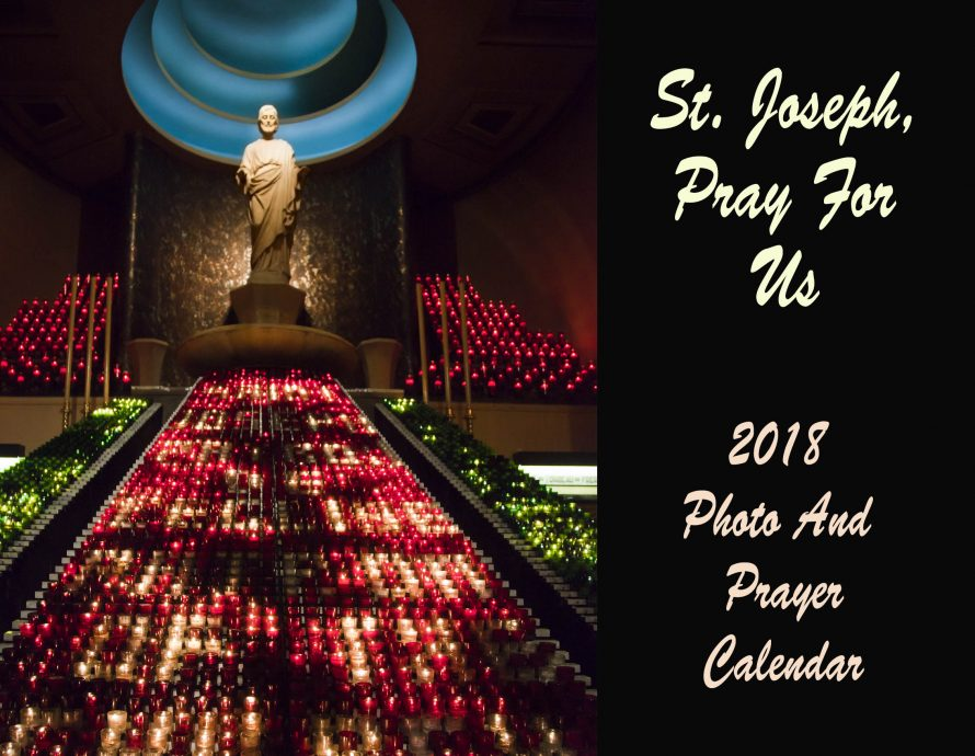 2018 St. Joseph Photo And Prayer Calendar