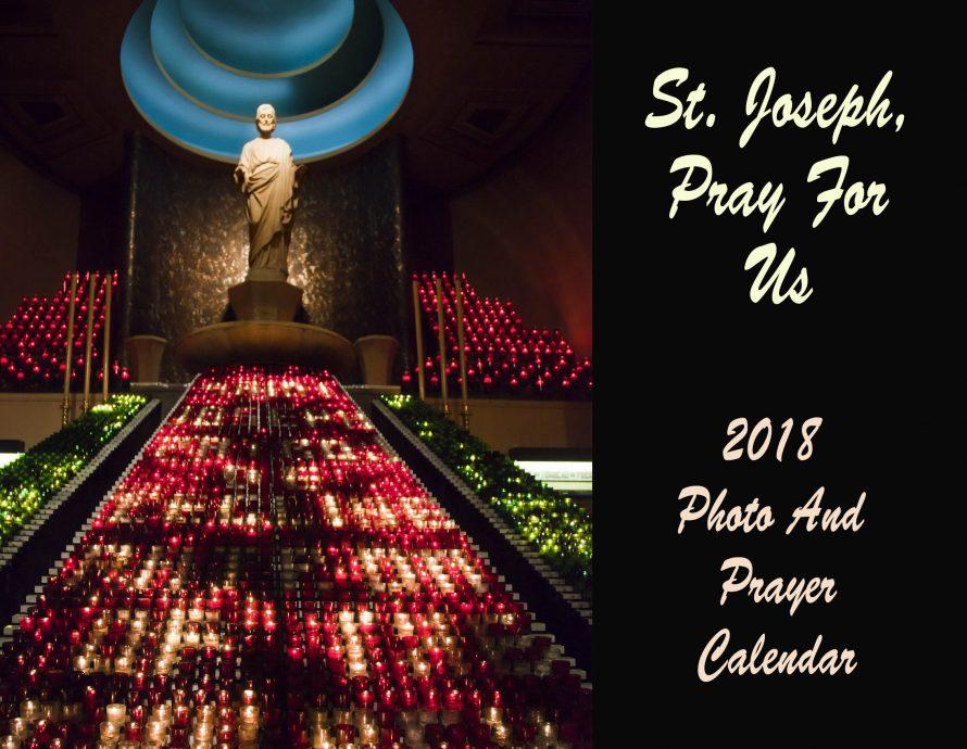 2018 St. Joseph Photo And Prayer Calendar