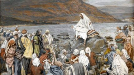 Brooklyn_Museum_-_Jesus_Teaches_the_People_by_the_Sea_(Jésus_enseigne_le_peuple_près_de_la_mer)_-_James_Tissot_-_overall